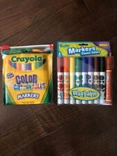 New listing New/Unused Crayola Color Changeables Markers + Foohy Markers Classic Colors
