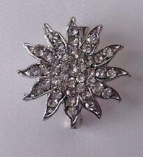 Diamante Brooch ,bridal cake topper 2 cm