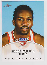 2012-13 Leaf Moses Malone 76ers Rockets #MM1