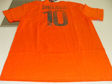 Team Netherland Euro Cup 2012  Wesley Sneijder XL Name Number Soccer T Shirt