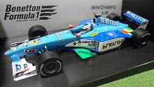 F1 BENETTON 1999 B199 FISICHELLA formule 1 PLAYLIFE au 1/18 MINICHAMPS 180990009