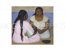 """RIVERA DIEGO - TWO WOMEN AND A CHILD - ART PRINT POSTER 11"""" x 14"""" (1200)"""