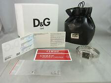 D&G DOLCE & GABBANA DW0602 DAMENUHR MIT STARSS-STEINE BOX PAPIERE