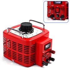Transformer Variac Variable Ac Voltage Regulator Metered 3000w 30amp Auto Sale