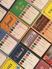 1000 TRIVIAL PURSUIT CARDS (25+ Editions - YOU PICK) 10 Different 100-Card Decks