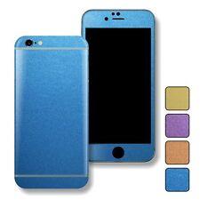 MATT Matte METALLIC Skin Wrap Sticker Decal Protector for iPhone 6 & 6 Plus