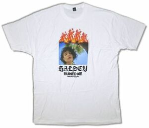 Halsey Ruined Me White T shirt New Official Merch Soft