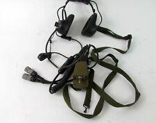Sonetronics H16 1F GR Pilots Headset FSCM16575 with Microphone (Vintage)