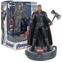 """Avengers Endgame Thor Deluxe 7"""" Action Figure with LED Light Base"""