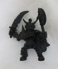 Warhammer Fantasy Orruk Wyvern Rider Pewter Model Built Painted