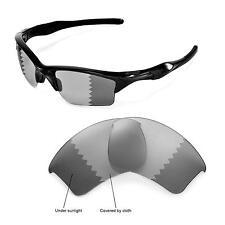 New WL Polarized Transition/Photochromic Lenses For Oakley Half Jacket 2.0 XL