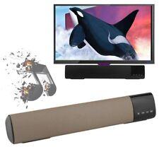 NEW Wireless Bluetooth TV Home Theater Speaker Soundbar SOUND BAR BOX MAX BP
