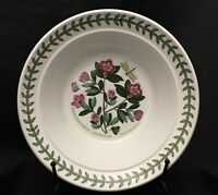 Vibrant Portmeirion BOTANIC GARDEN Rhododendron Rimmed Cereal Oatmeal Bowl