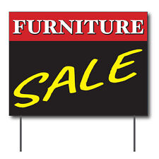 Furniture Sale Curbside Sign 24w X 18h Full Color Double Sided