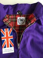 purple Harrington Jacket, MEDIUM, new with tags, Ska, Skinhead, Mod, Scooter