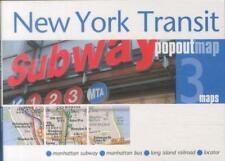 New York Transit PopOut Map von PopOut Maps (2011, Gebunden)