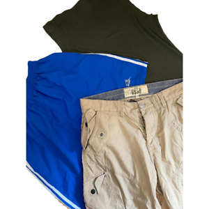 Wholesale Branded Clothing Job Lot Men's Used Grade A Mixed Shorts Clearance UK