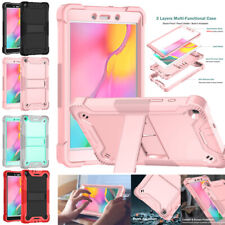 """Protective Hard Stand Case Cover For Samsung Galaxy Tab A 8.0"""" 10.1"""" T290 T510"""
