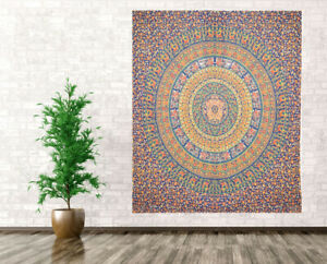 Indian Wall Hanging Mandala Tapestry Queen Hippie Gypsy Bohemian Bedspread Throw