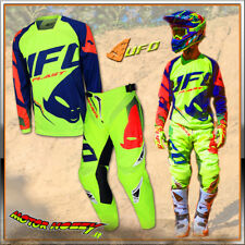 COMPLETO CROSS ENDURO MADE IN ITALY UFO SEQUENCE GIALLO FLUO 2018 TAGLIA 54-XXL