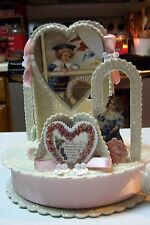 2009 Bethany Lowe by Casey Mack Valentine's Day Courting Centerpiece Container