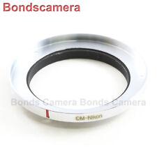 Olympus OM Lens To Nikon F camera mount Adapter D750 D800 D3200 D7000