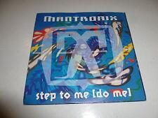 "MANTRONIX - Step To Me (Do Me) - 1991 UK 2-track 7"" Viny Single"
