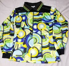 HIGH 5 SPORTSWEAR Padded Collared Multicolor Graphic Soccer Goalie Shirt Y M