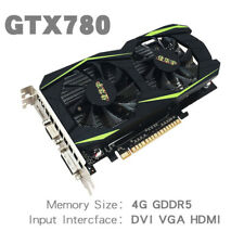 GTX780 4GD5 128Bit DDR5 PCI Express2.0 Desktop Computer PC Game Graphics Card