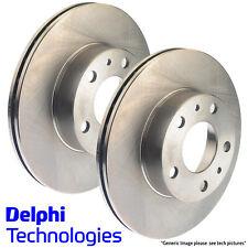 GENUINE DELPHI COATED FRONT BRAKE DISCS FORD FIESTA VI 08> 258MM BG4170C