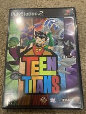 Teen Titans PlayStation 2 Ps2 Black Label Cib