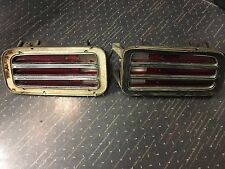 1970 Plymouth Cuda Taillights Right and Left