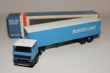± LION CAR DAF 2800 TRUCK WITH TRAILER SUIKER UNIE N MINT BOXED