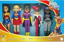 Dc Super Hero Girls 5-Pack Wonder Woman Supergirl Batgirl Harley Quinn Catwoman