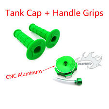Green Throttle Handle Grips Tank Cap Cover For YCF GPX 50cc-160cc Pit Dirt Bike