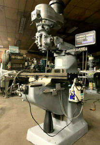 Bridgeport Milling Machine (Knee Mill)   with Power Feed and DRO