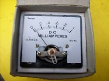 Milliamp meter panel gauge