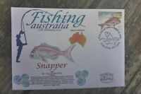 2003 FISHING AUSTRALIA ALPHA FIRST DAY COVER SNAPPER STAMP