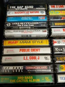 80s 90s Hip Hop Lot 3rd Bass Public Enemy Run DMC Beastie Boys Ice T Kwame