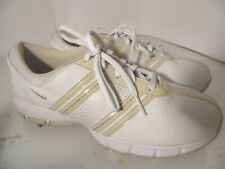 Nike 317622-121 Women's Golf Shoes White/Beige Sz 8 M