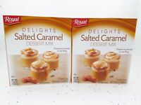 Pudding Lot 2 Royal Delights Salted Caramel Dessert Mix Jello Mousse Pie Fill