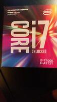i7 7700K new - brand new - no open box