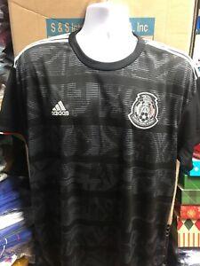 Adidas Mexico Stadium Black Jersey Playera Negra Mexico 2019  Size Medium Only