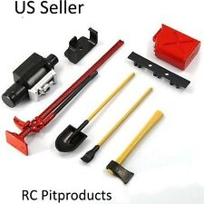 1/10 Scale RC Rock Crawler Accessory Tool Set For D90 SCX10 Wraith Red US Seller