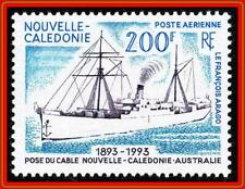 NEW CALEDONIA 1993 TELEPHONE CABLE SHIP  SC#C253 MNH COMMUNICATIONS
