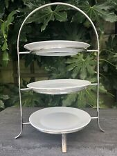 Arthur Price Silver Plated 3 Tier Cake Stand Stunning Quality
