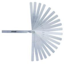 Accud 300 mm Feeler Gauge 20 Leave Set AC-915-100-20