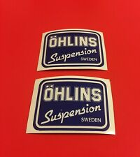 Ohlins stickers/adesivi