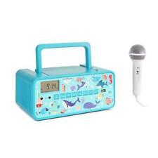 Machine Karaoke Lecteur Bluetooth video Lecteur CD Microphone enfants Underwater