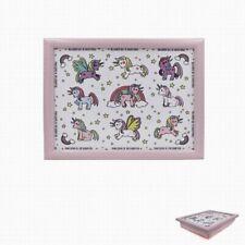Childrens Bean Bag Lap Tray, Little Stars Range Unicorns Design